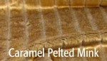 Caramel Pelted Mink - Product Image