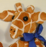 Giraffe Family Faces - Product Image