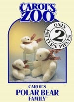 Polar Bear Family Pattern - Product Image