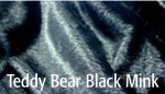 Teddy Bear Black Mink - Product Image