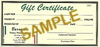 Carols ZooGift Certificate - Product Image